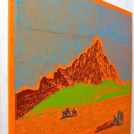 Oil on Canvas - 2013 - 100cm x 100cm