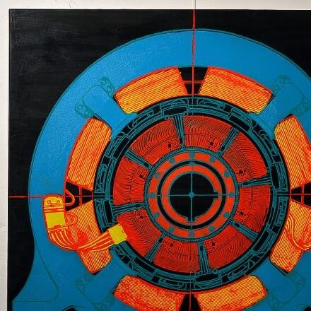Oil on Canvas - 2014 - 100 cm x 100 cm