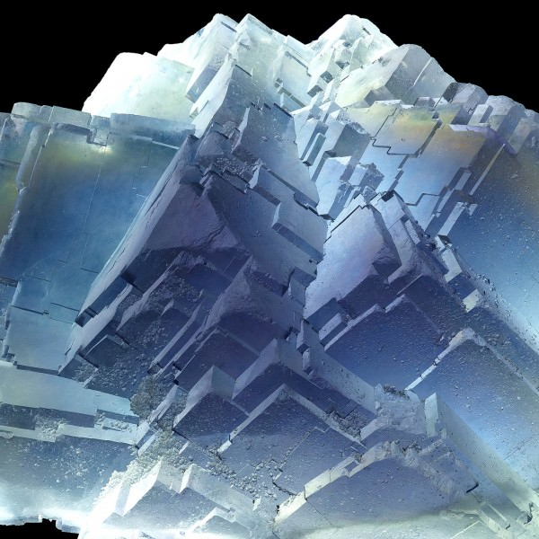 Cubic Stepped Fluorite Floater