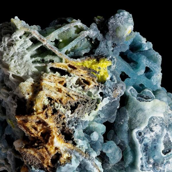 Plumbogummite Pseudomorph Boxwork